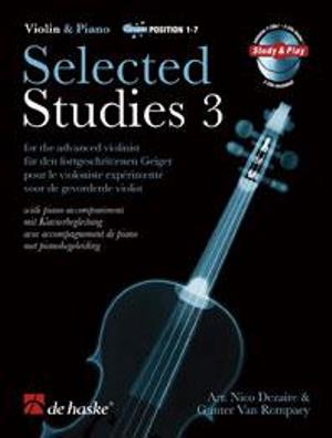 Selected Studies 3 Violin