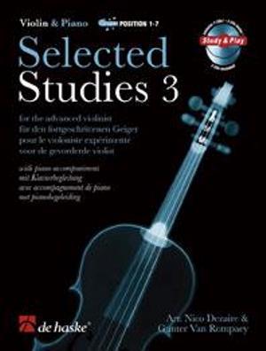 Selected Studies 3 Violin