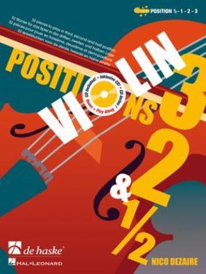 Violin Positions 3, 2 & ½
