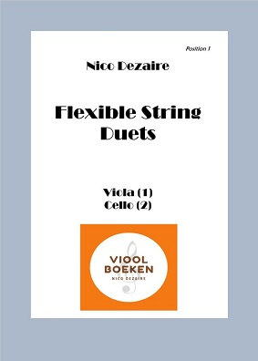 Flexible String Duets (Viola – Cello e-book)