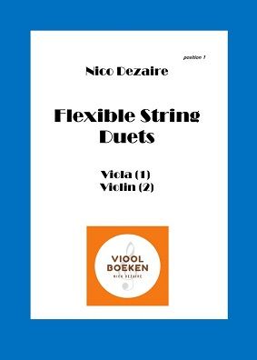 Flexible String Duets (Viola – Violin e-book)