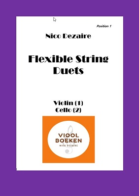 Flexible String Duets (Violin – Cello e-book)