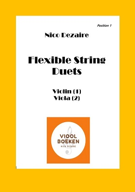 Flexible String Duets (Violin – Viola e-book)