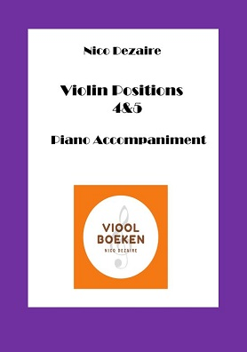 Violin Positions 4 & 5 Piano Accompaniment (e-book)