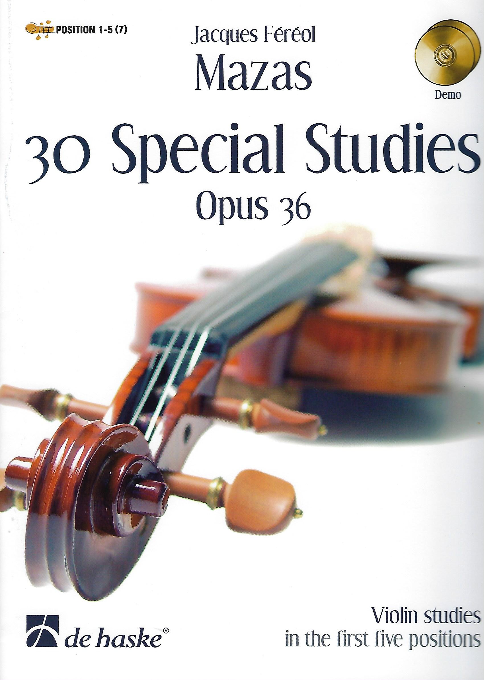 30 Special Studies Opus 36