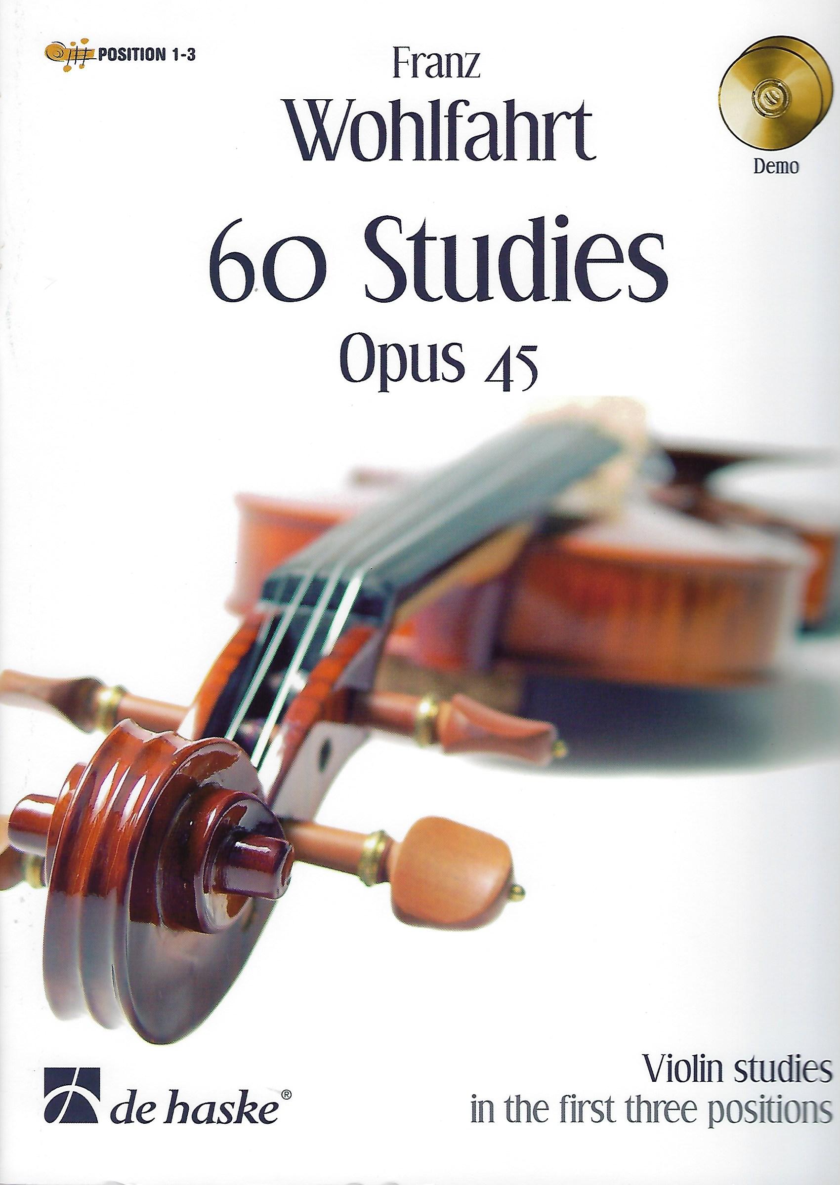 60 Studies Opus 45