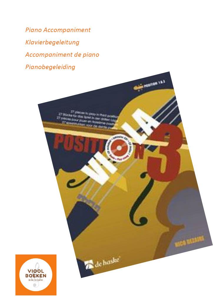 Viola Position 3 Piano Accompaniment (e-book)