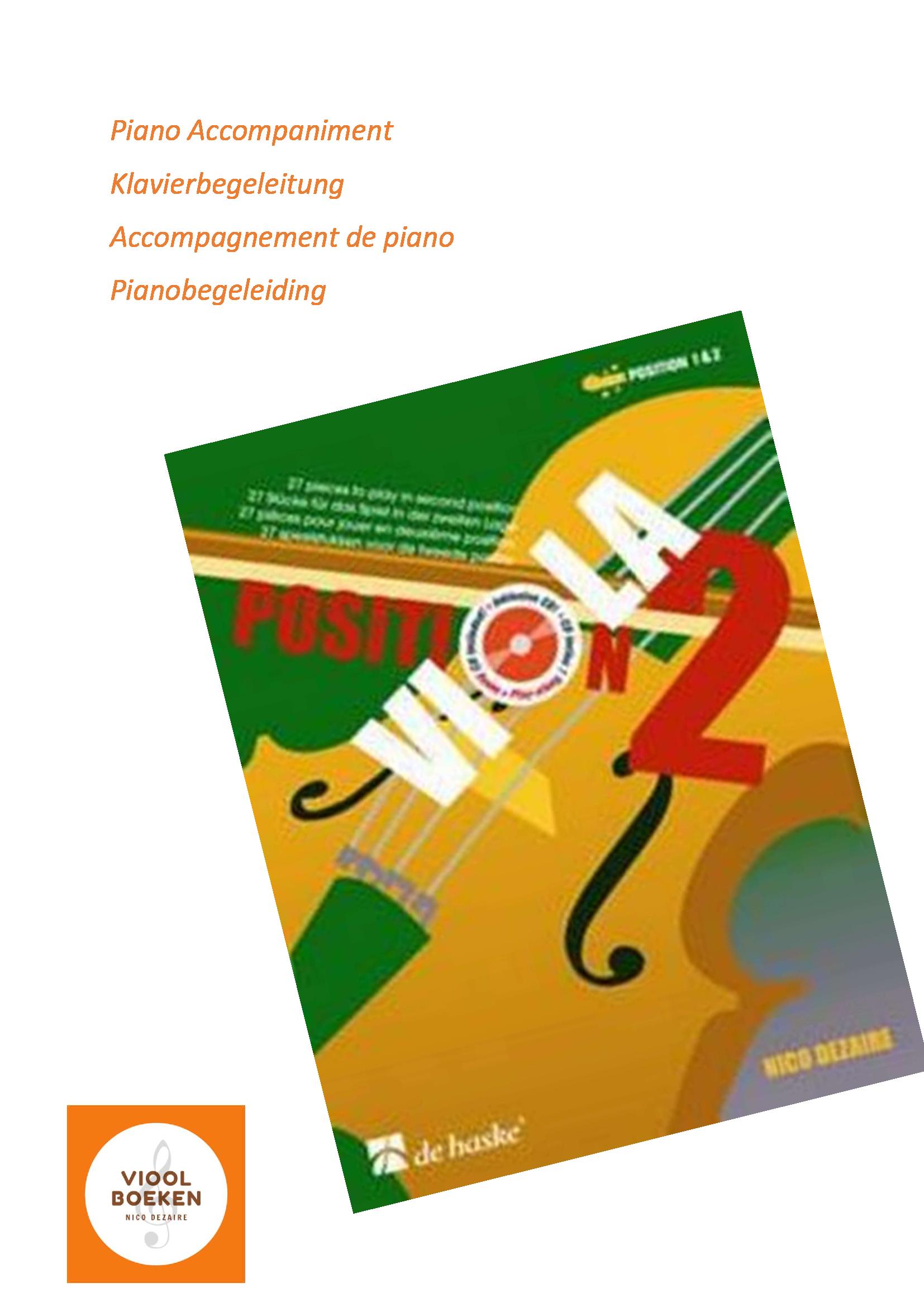 Viola Position 2 Piano Accompaniment (e-book)